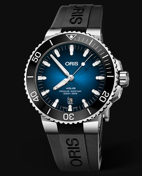 Oris Aquis CLIPPERTON LIMITED EDITION 43.5mm 01 733 7730 4185-Set RS Replica Watch
