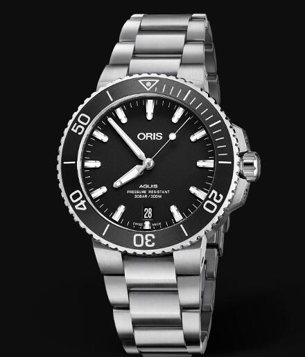 Oris Aquis Date 39.5mm Replica Watch 01 733 7732 4124-07 8 21 05EB