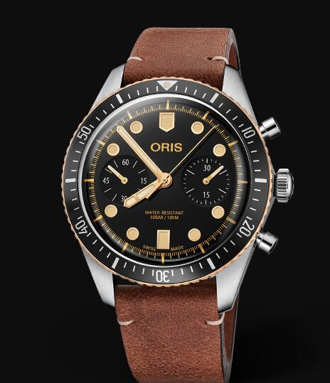 Oris Divers Sixty Five Chronograph 01 771 7744 4354-07 5 21 45 Replica Watch