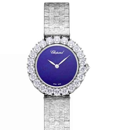 Chopard Replica Watch L'HEURE DU DIAMANT SMALL VINTAGE SMALL AUTOMATIC WHITE GOLD DIAMONDS 10A378-1002