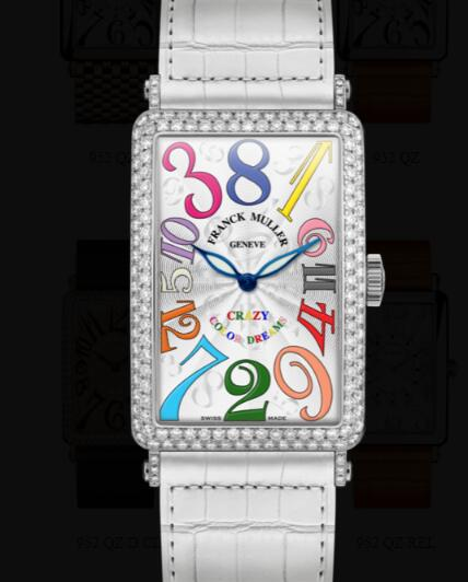 Franck Muller Long Island Ladies Replica Watch for Sale Cheap Price 1200 CH COL DRM D