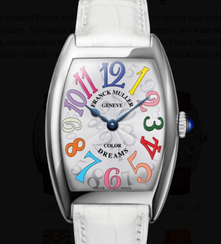 Franck Muller Cintrée Curvex Ladies Replica Watch for Sale Cheap Price 1752 QZ COL DRM