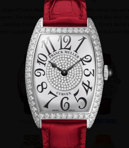 Franck Muller Cintrée Curvex Ladies Replica Watch for Sale Cheap Price 1752 QZ D 1P