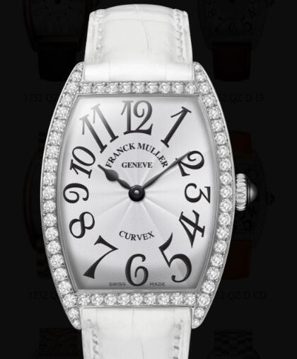 Franck Muller Cintrée Curvex Ladies Replica Watch for Sale Cheap Price 1752 QZ DP