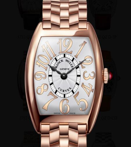 Franck Muller Cintrée Curvex Ladies Replica Watch for Sale Cheap Price 1752 QZ REL O
