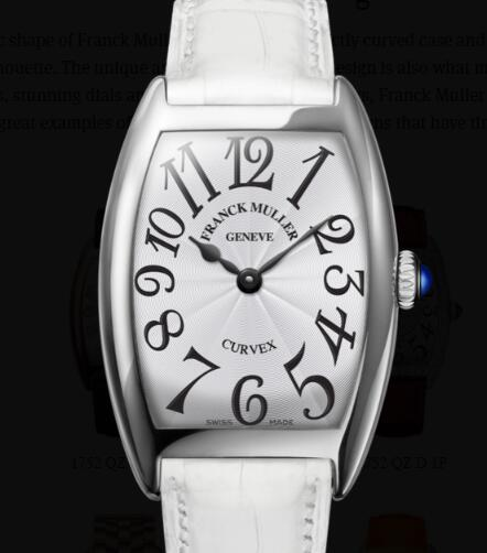 Franck Muller Cintrée Curvex Ladies Replica Watch for Sale Cheap Price 1752 QZ
