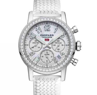 Chopard Classic Racing Replica Watch MILLE MIGLIA CLASSIC CHRONOGRAPH 39 MM AUTOMATIC STAINLESS STEEL DIAMONDS 178588-3001