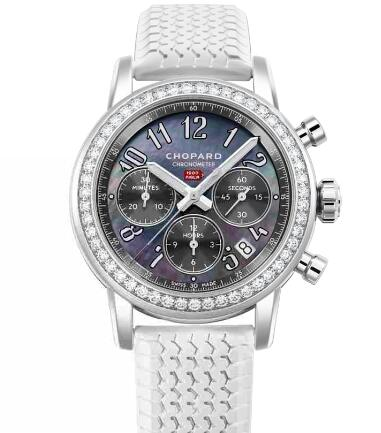 Chopard Classic Racing Replica Watch MILLE MIGLIA CLASSIC CHRONOGRAPH 39 MM AUTOMATIC STAINLESS STEEL DIAMONDS 178588-3002