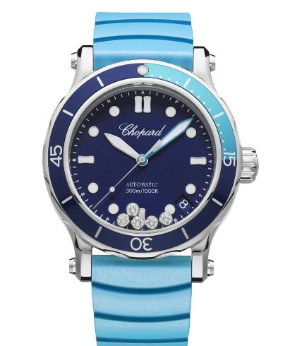 Chopard Happy OCEAN Watch Cheap Price 40 MM AUTOMATIC STAINLESS STEEL DIAMONDS 278587-3001
