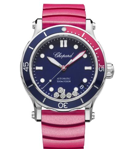 Chopard Happy OCEAN Watch Cheap Price 40 MM AUTOMATIC STAINLESS STEEL DIAMONDS 278587-3002