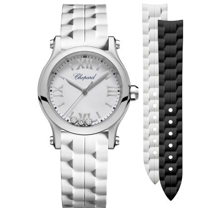 Chopard Happy Sport Watch Cheap Price 30 MM QUARTZ STAINLESS STEEL DIAMONDS 278590-3001
