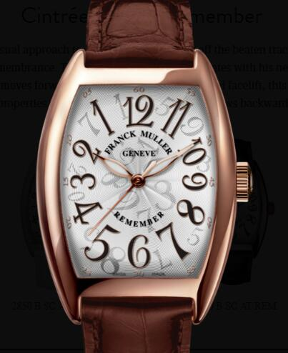 Buy Franck Muller Cintrée Curvex Remember Replica Watch for sale Cheap Price 2850 B SC AT REM