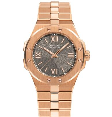 Chopard Alpine Eagle Replica Watch ALPINE EAGLE SMALL 36 MM AUTOMATIC ROSE GOLD 295370-5001
