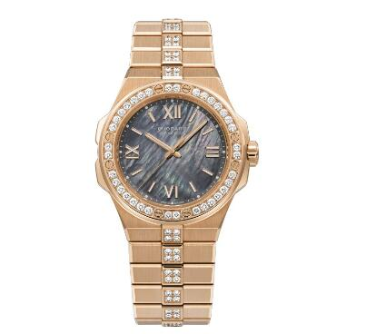 Chopard Alpine Eagle Replica Watch ALPINE EAGLE SMALL 36 MM AUTOMATIC ROSE GOLD DIAMONDS 295370-5003