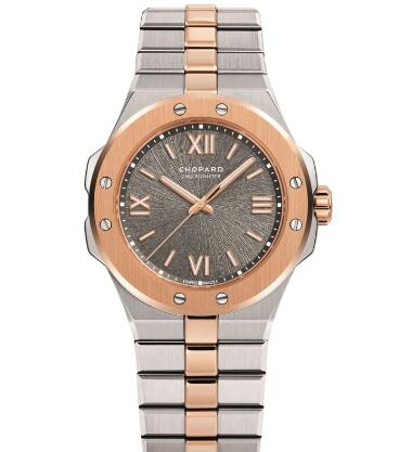 Chopard Alpine Eagle Replica Watch ALPINE EAGLE SMALL 36 MM AUTOMATIC ROSE GOLD CHOPARD LUCENT STEEL A223 298601-6001