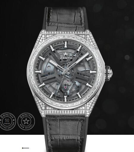 Replica Zenith Watch Zenith DEFY INVENTOR GREATER CHINA 44mm 32.9000.9100/76.R582