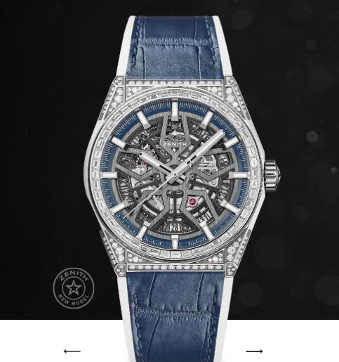 Replica Zenith Watch Zenith DEFY CLASSIC JEWELRY 41mm 32.9001.670/78.R590