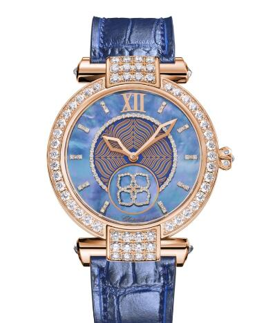 Chopard Imperiale Joaillerie Watches for sale Review Replica 36 MM AUTOMATIC ROSE GOLD DIAMONDS 384296-5001