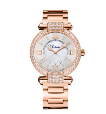 Chopard Imperiale Watches for sale Review Replica 36 MM AUTOMATIC ROSE GOLD DIAMONDS 384822-5004