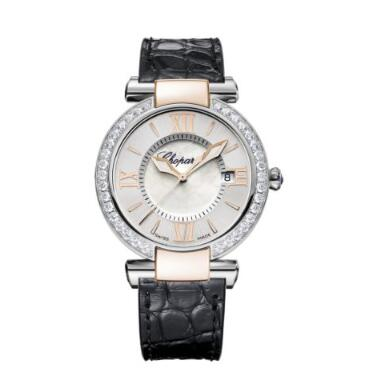 Chopard Imperiale Watches for sale Review Replica 36 MM QUARTZ OSE GOLD STAINLESS STEEL DIAMONDS 388532-6003