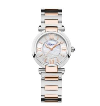 Chopard Imperiale Watches for sale Review Replica 29 MM AUTOMATIC ROSE GOLD STAINLESS STEEL 388563-6006