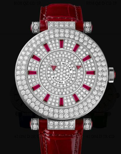 Franck Muller Round Ladies Double Mystery Replica Watch for Sale Cheap Price 42 DM D 2R CD OG