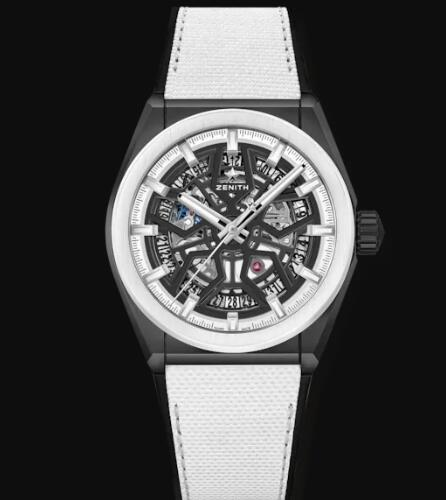 Zenith DEFY CLASSIC BLACK And WHITE EDITION Replica Watch 49.9005.670/11.R943