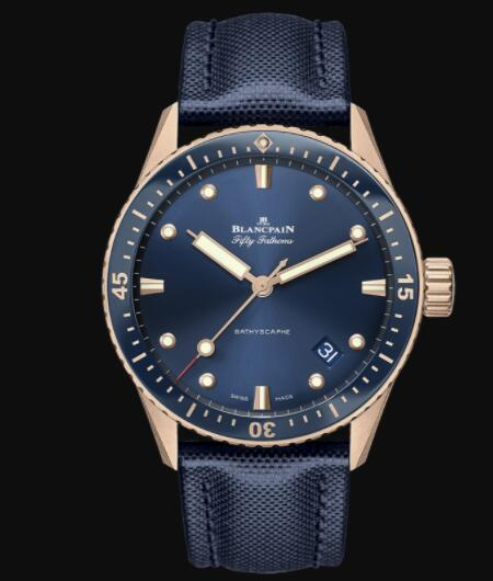 Blancpain Fifty Fathoms Bathyscaphe Replica THE FIRST MODERN DIVER'S WATCH 5000 36S40 O52A