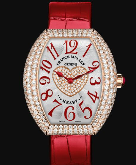 Franck Muller Heart Replica Watch Cheap Price 5002 QZ D3 1P 5N