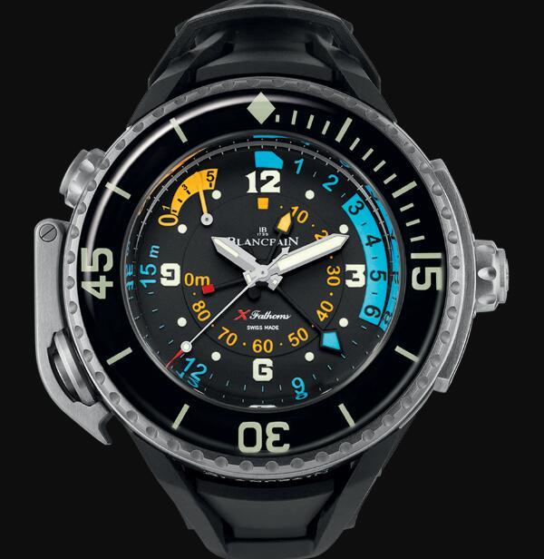 Blancpain Fifty Fathoms Watch Review X Fathoms Replica Watch 5018 1230 64A