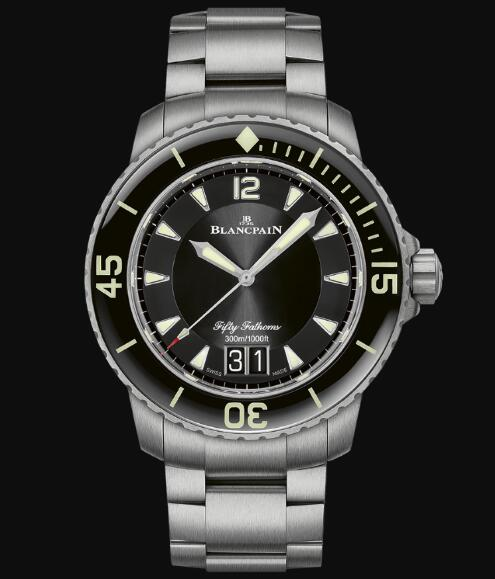 Blancpain Fifty Fathoms Watch Review Fifty Fathoms Grande Date Replica Watch 5050 12B30 98