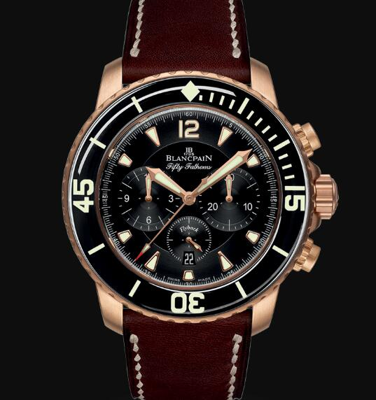Blancpain Fifty Fathoms Watch Review Chronographe Flyback Replica Watch 5085FA 3630 63B