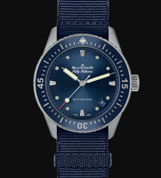Blancpain Fifty Fathoms Watch Review Bathyscaphe Replica Watch 5100 1140 NAOA