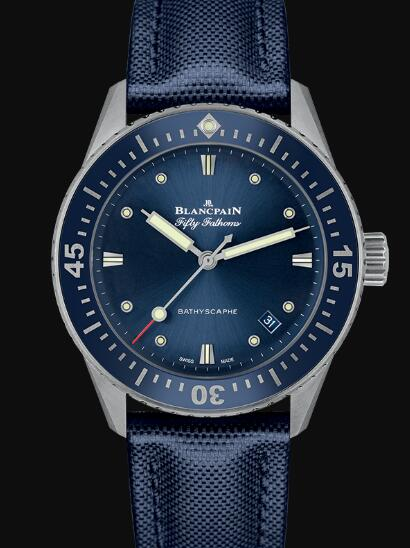 Blancpain Fifty Fathoms Watch Review Bathyscaphe Replica Watch 5100 1140 O52A