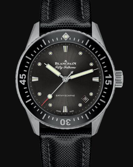 Blancpain Fifty Fathoms Watch Review Bathyscaphe Replica Watch 5100B 1110 B52A