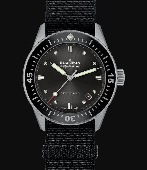 Blancpain Fifty Fathoms Watch Review Bathyscaphe Replica Watch 5100B 1110 NABA