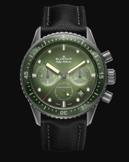Blancpain Fifty Fathoms Replica Watch Bathyscaphe Chronographe Flyback 5200 0153 B52A
