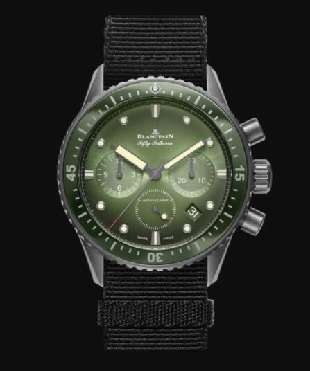 Blancpain Fifty Fathoms Replica Watch Bathyscaphe Chronographe Flyback 5200 0153 NABA
