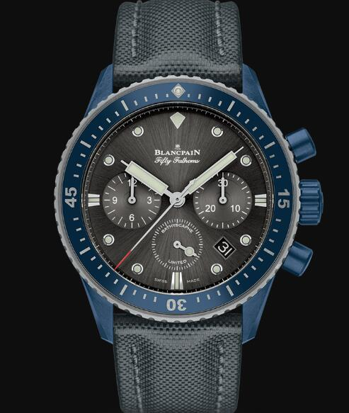 Blancpain Fifty Fathoms Watch Review Bathyscaphe Chronographe Flyback Ocean Commitment Replica Watch 5200 0310 G52A