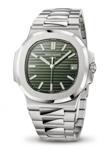 Replica Patek Philippe Nautilus 5711 Stainless Steel Green Watch 5711/1A-014