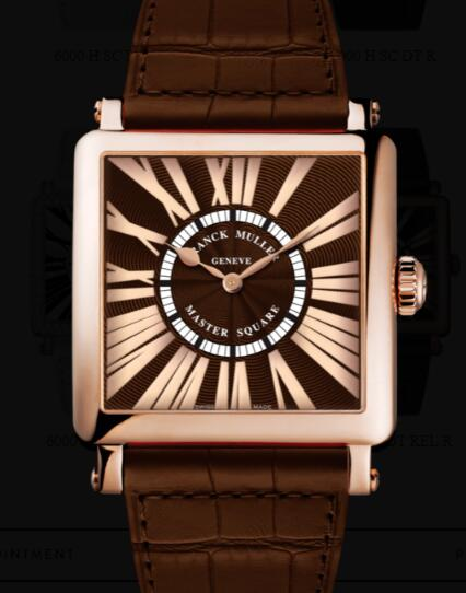 Franck Muller Master Square Men Replica Watch for Sale Cheap Price 6000 H QZ REL R 5N