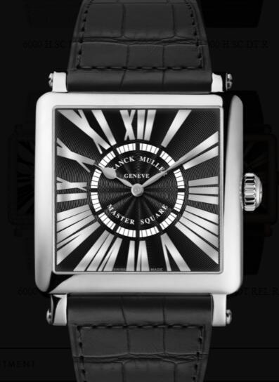 Franck Muller Master Square Men Replica Watch for Sale Cheap Price 6000 H QZ REL R OG