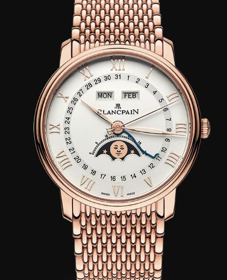 Blancpain Villeret Watch Price Review Quantième Complet Replica Watch 6654 3642 MMB