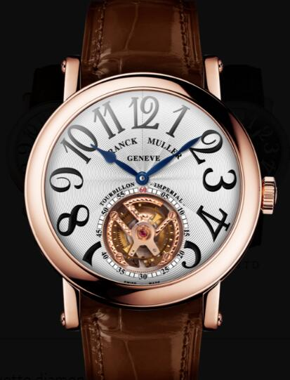 Franck Muller Round Men Tourbillon Replica Watch for Sale Cheap Price 7008 T 5N