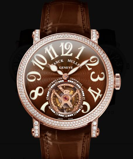 Franck Muller Round Men Tourbillon Replica Watch for Sale Cheap Price 7008 T D 5N