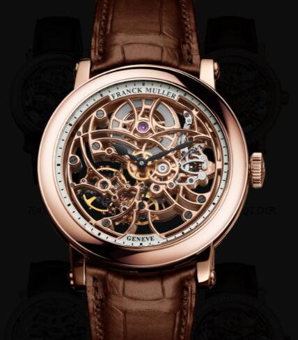 Franck Muller Round Men Skeleton Replica Watch for Sale Cheap Price 7042 B S6 SQT 5N
