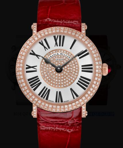 Franck Muller Round Ladies Classic Replica Watch for Sale Cheap Price 8038 QZ D CD 1P
