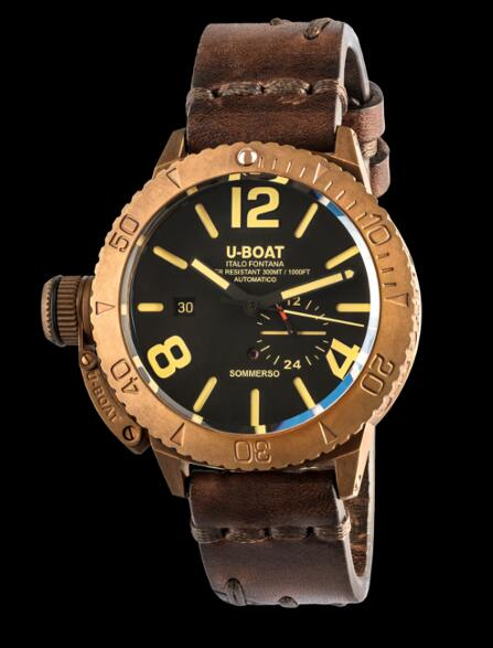 U Boat Dive Replica Watch SOMMERSO BRONZE 8486 Dive