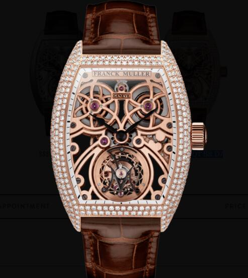 Franck Muller Fast Tourbillon Replica Watches for sale Cheap Price 8889 T F SQT BR D7 5N