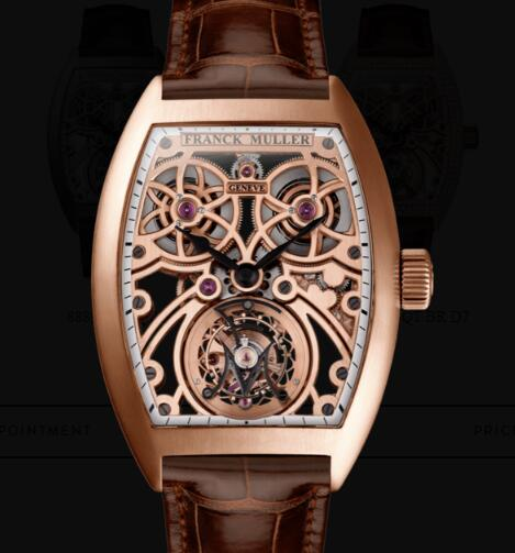 Franck Muller Fast Tourbillon Replica Watches for sale Cheap Price 8889 T F SQT BR 5N